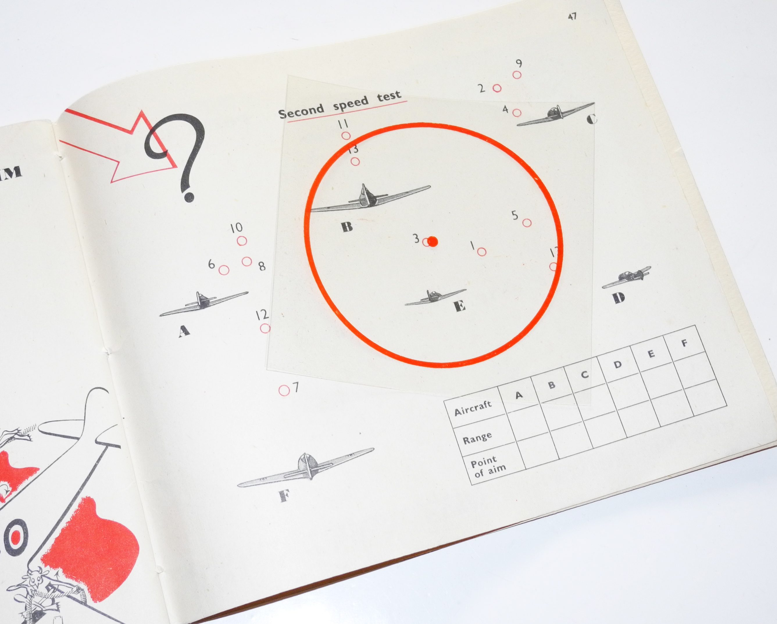 "RAF AP2580A Fighter Pilot training manual ""Bag the Hun!"""
