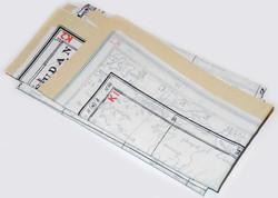RAF escape map Libya/Crete/N.Africa K1/K2