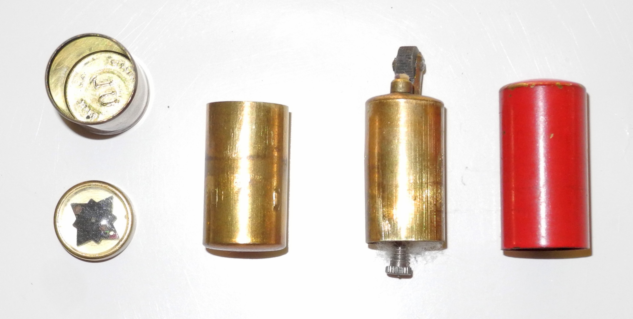 RAF cigarette lighter with concealed compass
