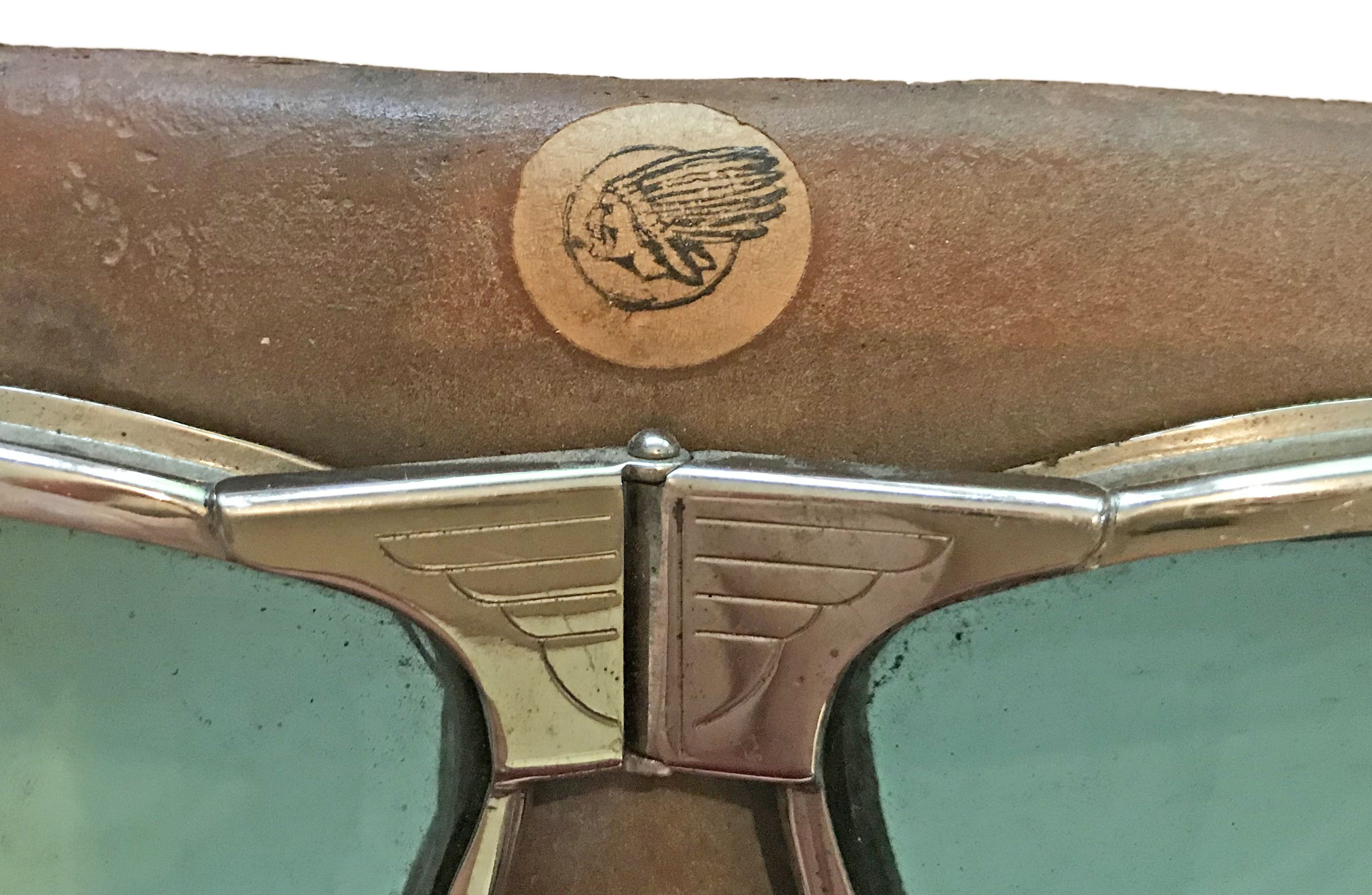 Indian Motor Cycle and Aviator Goggles