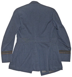 RAF service dress tunic by Gieves dated 10/42 named to Flight Lieutenant