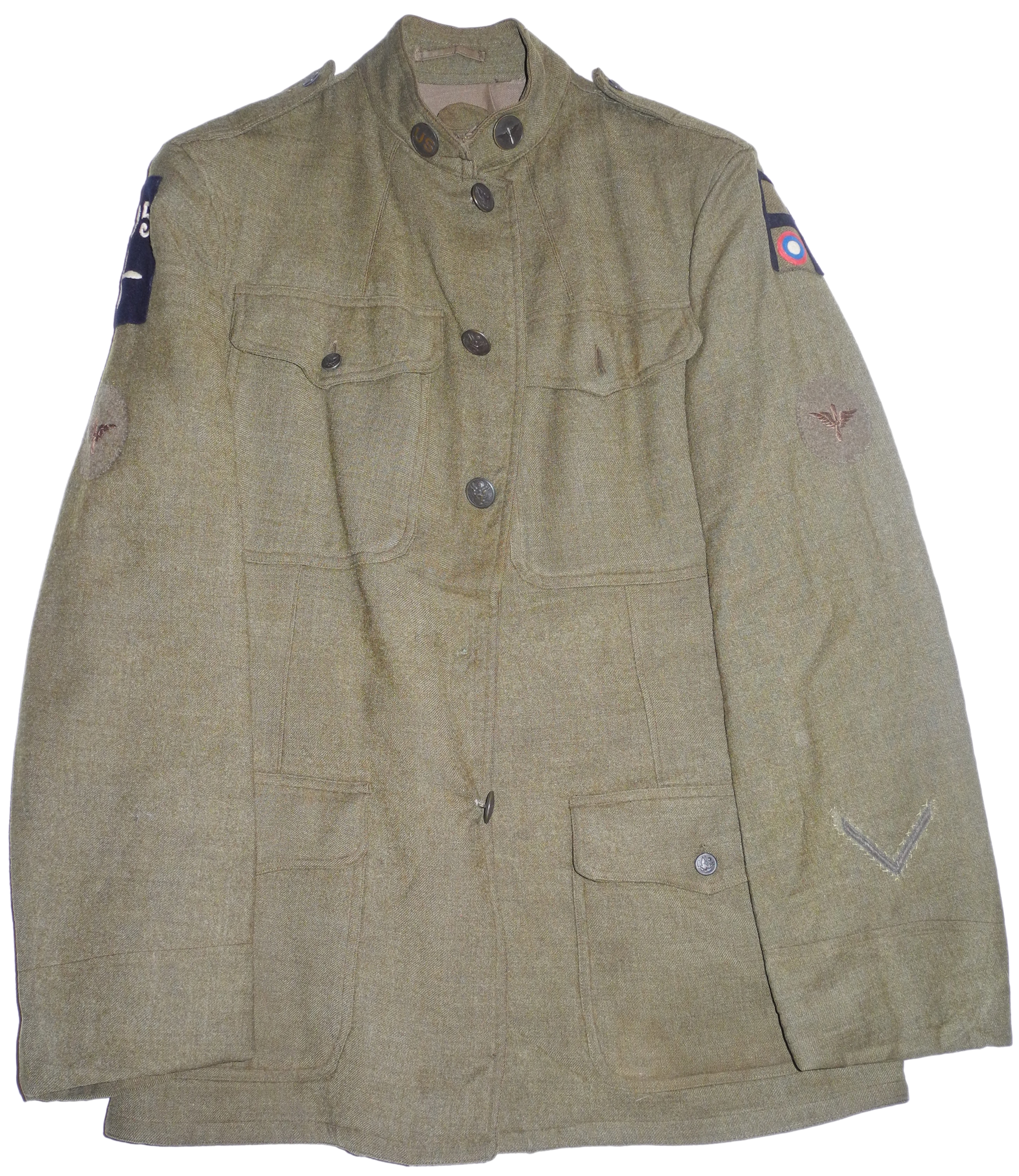 WWI US Air Service sergeant's tunic