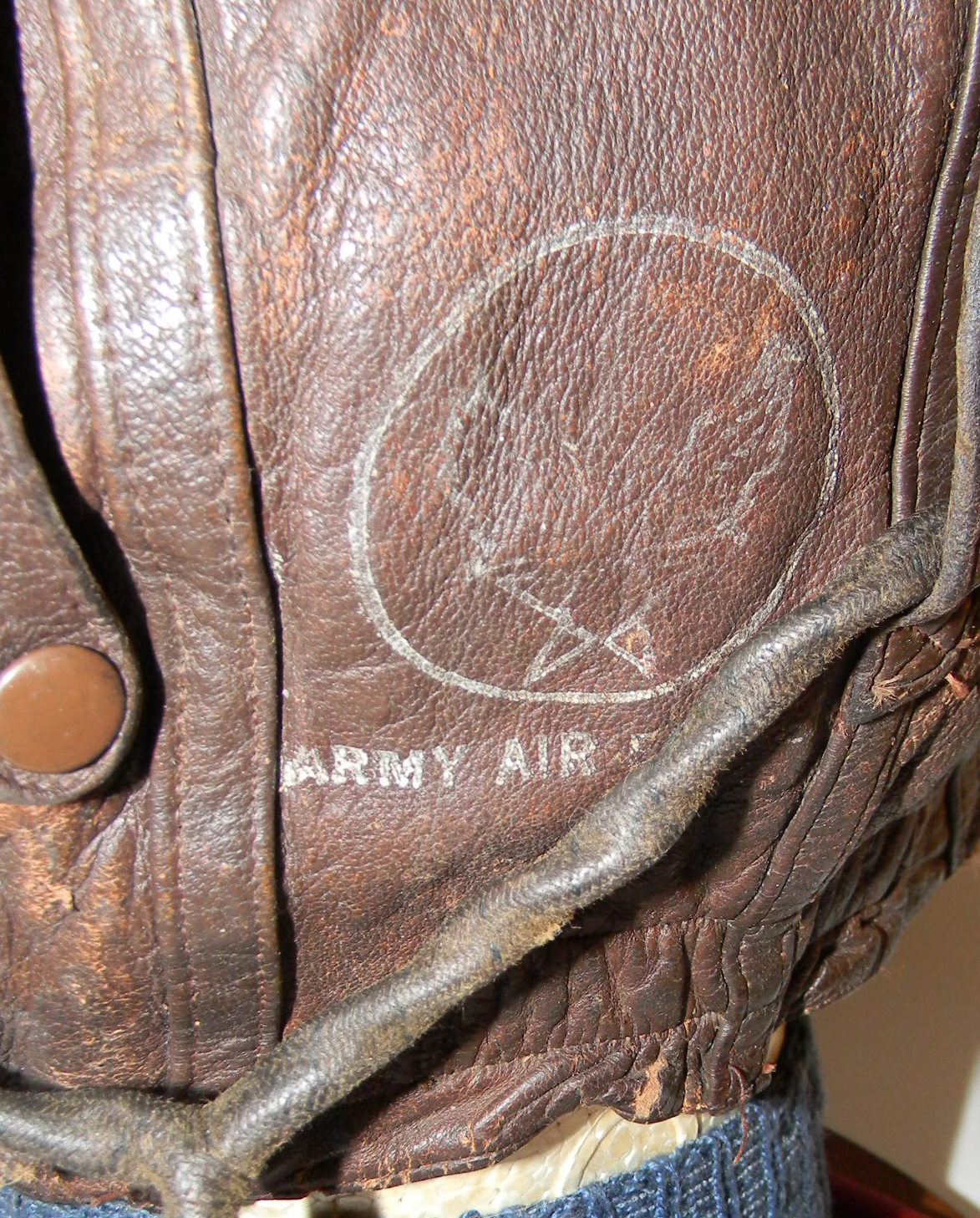 Early AAF Type A-11A flight helmet