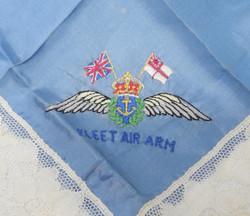 WWII Fleet Air Arm Doily