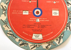 """Aircraft recognition """"wheel"""" 1940"""