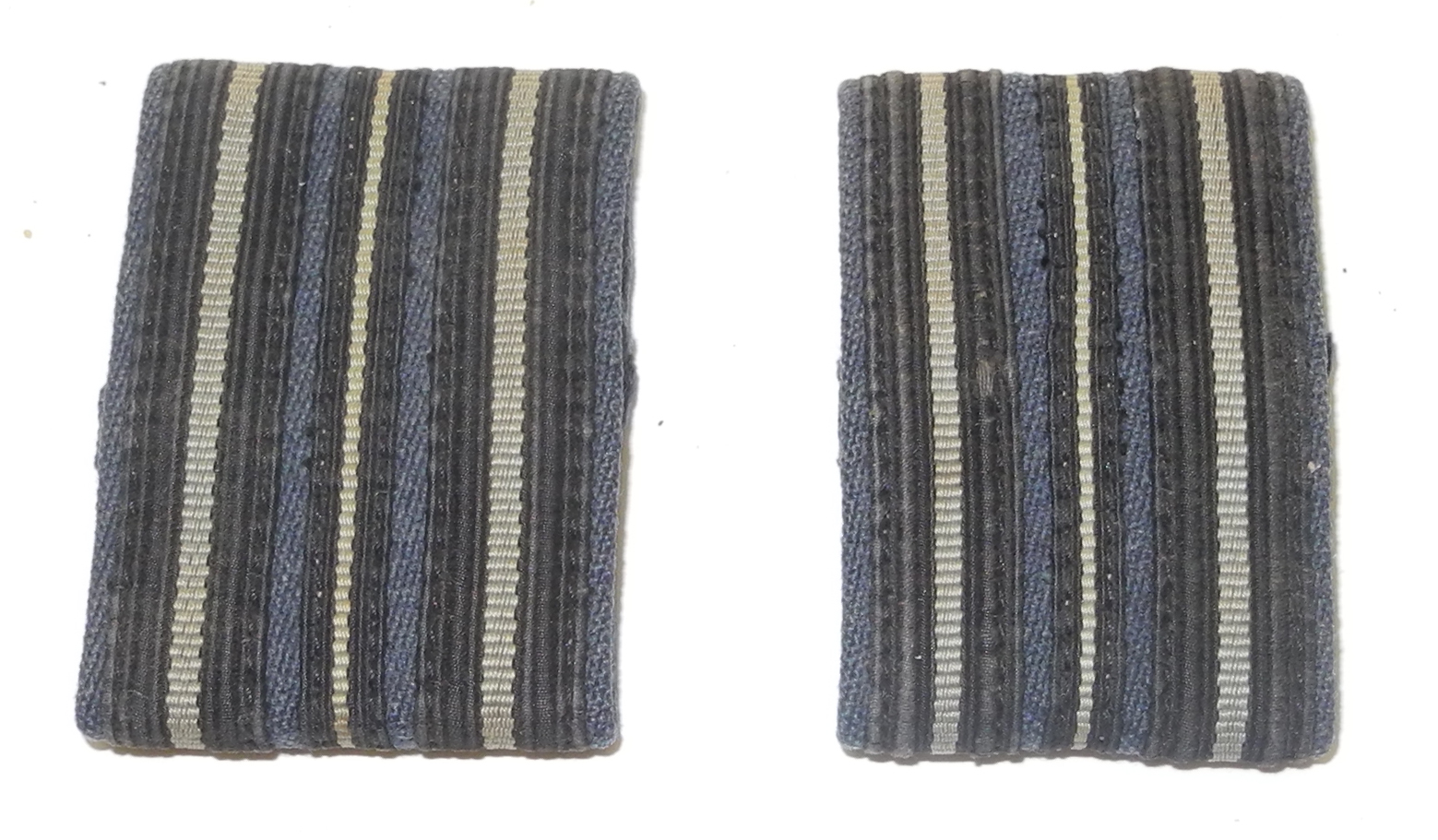 RAF epaulette rank slides