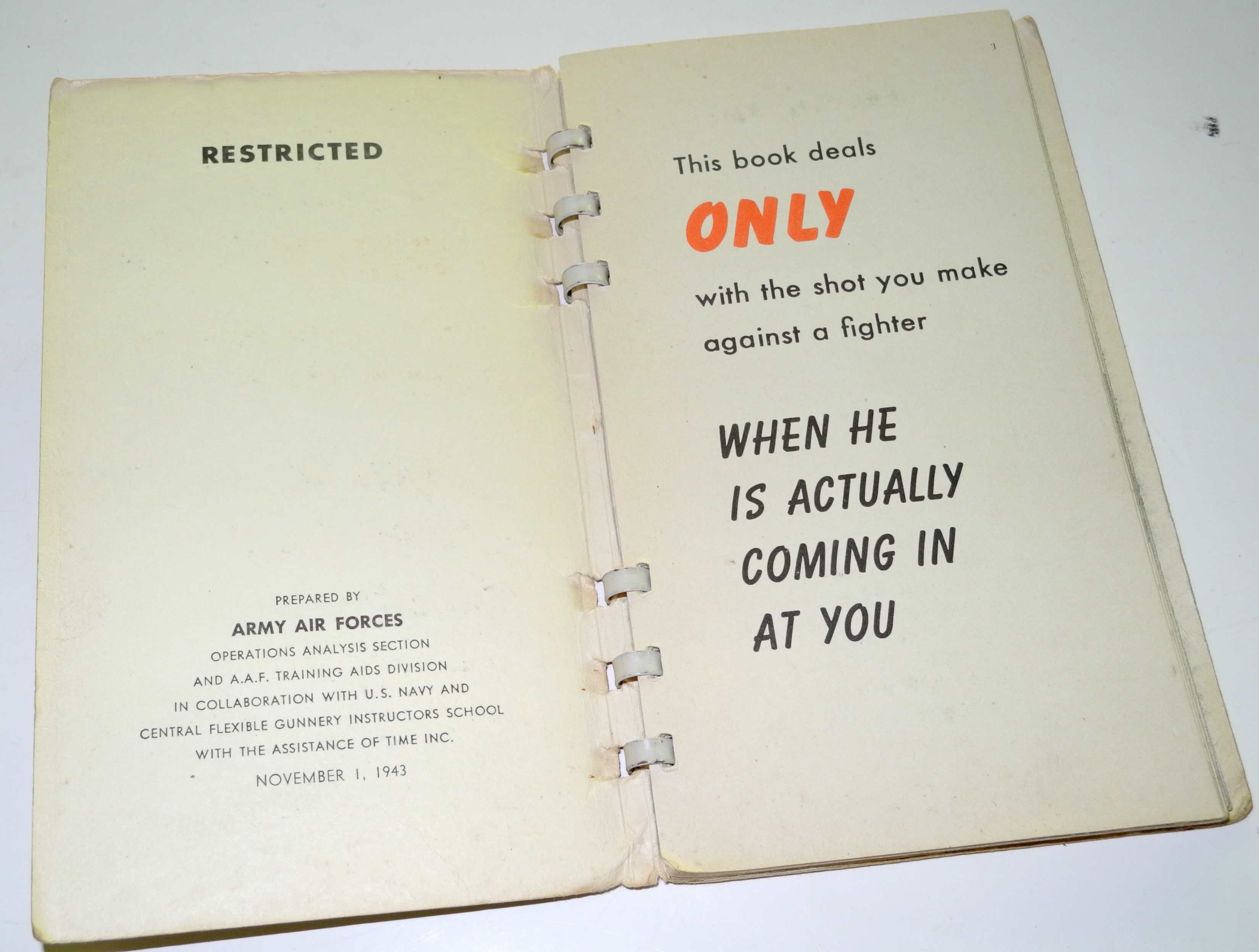 """AAF book """"Get that Fighter"""""""