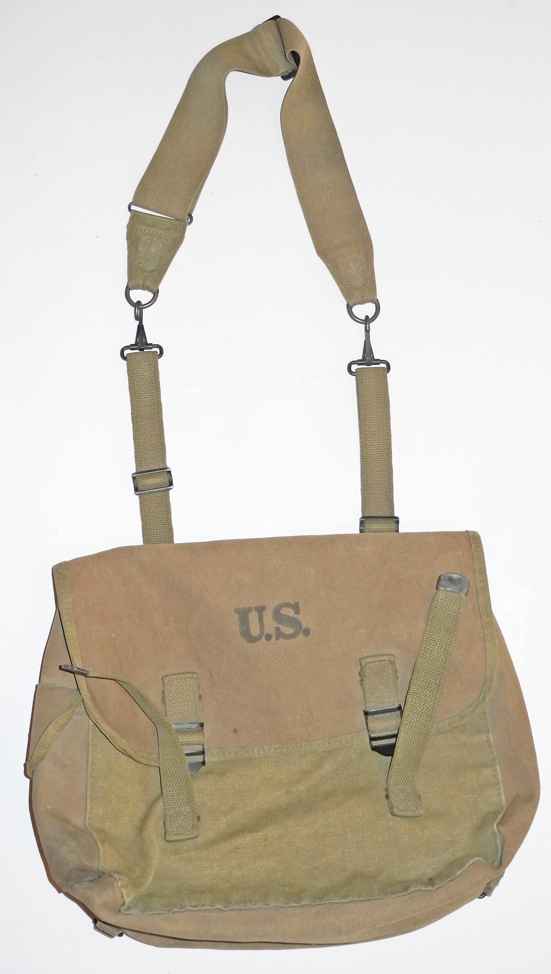 WWII US Army musette bag