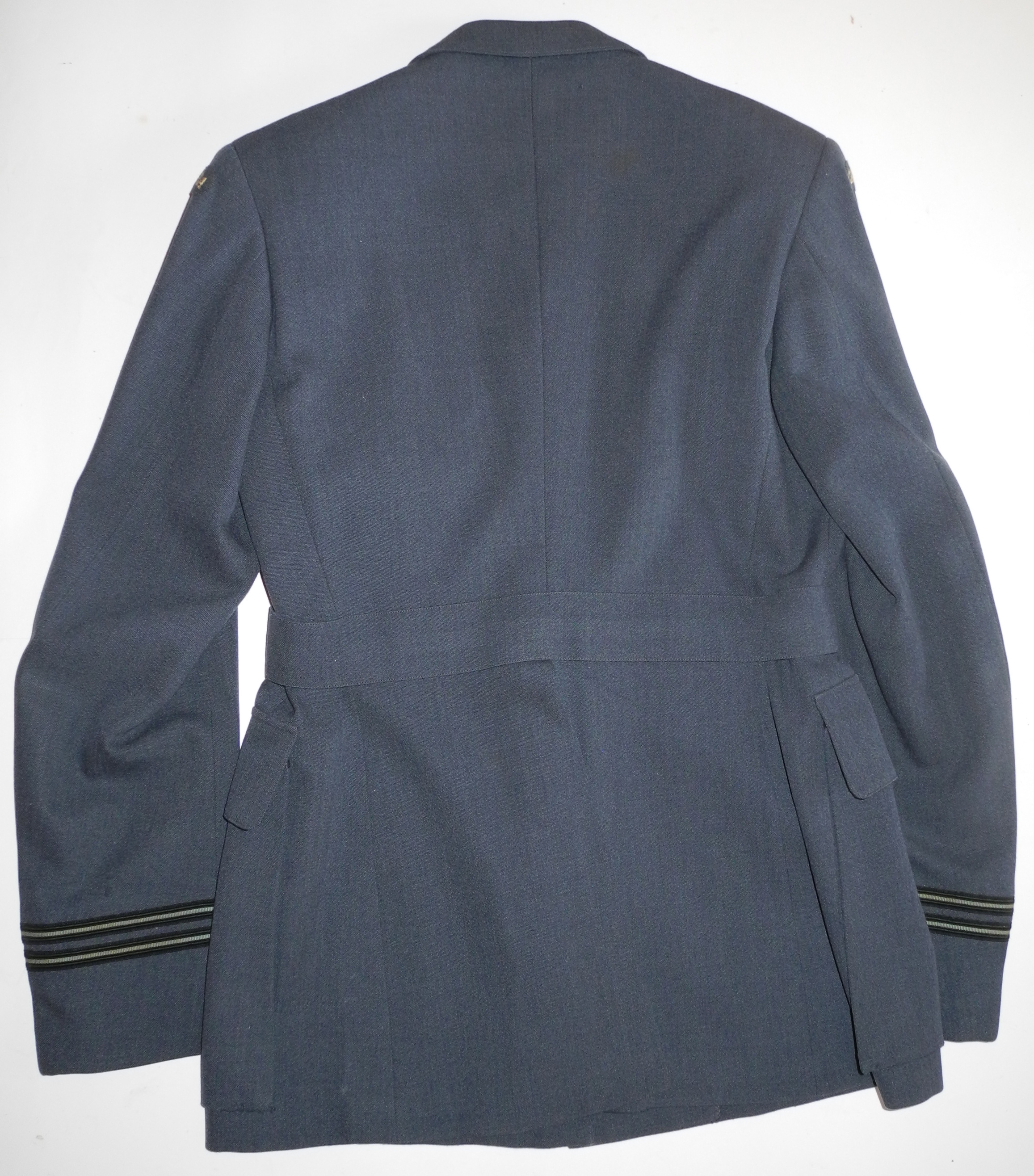 Named RCAF Obserever DFC uniform jacket and trousers with Ops wing