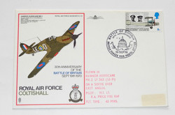 Battle of Britain 30th Anniversary First day Cover.