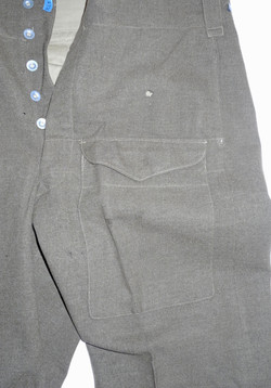 AAF New Zealand made BD blouse and trousers