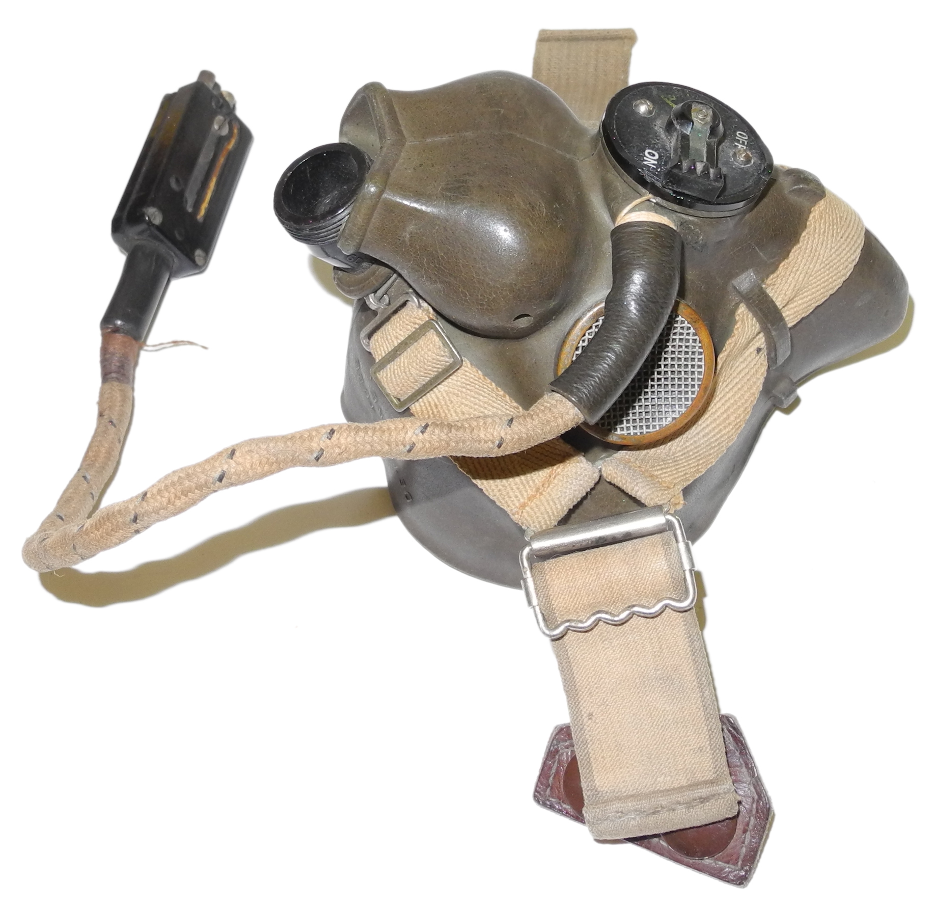 WWII dated RAF Type H mask - $385