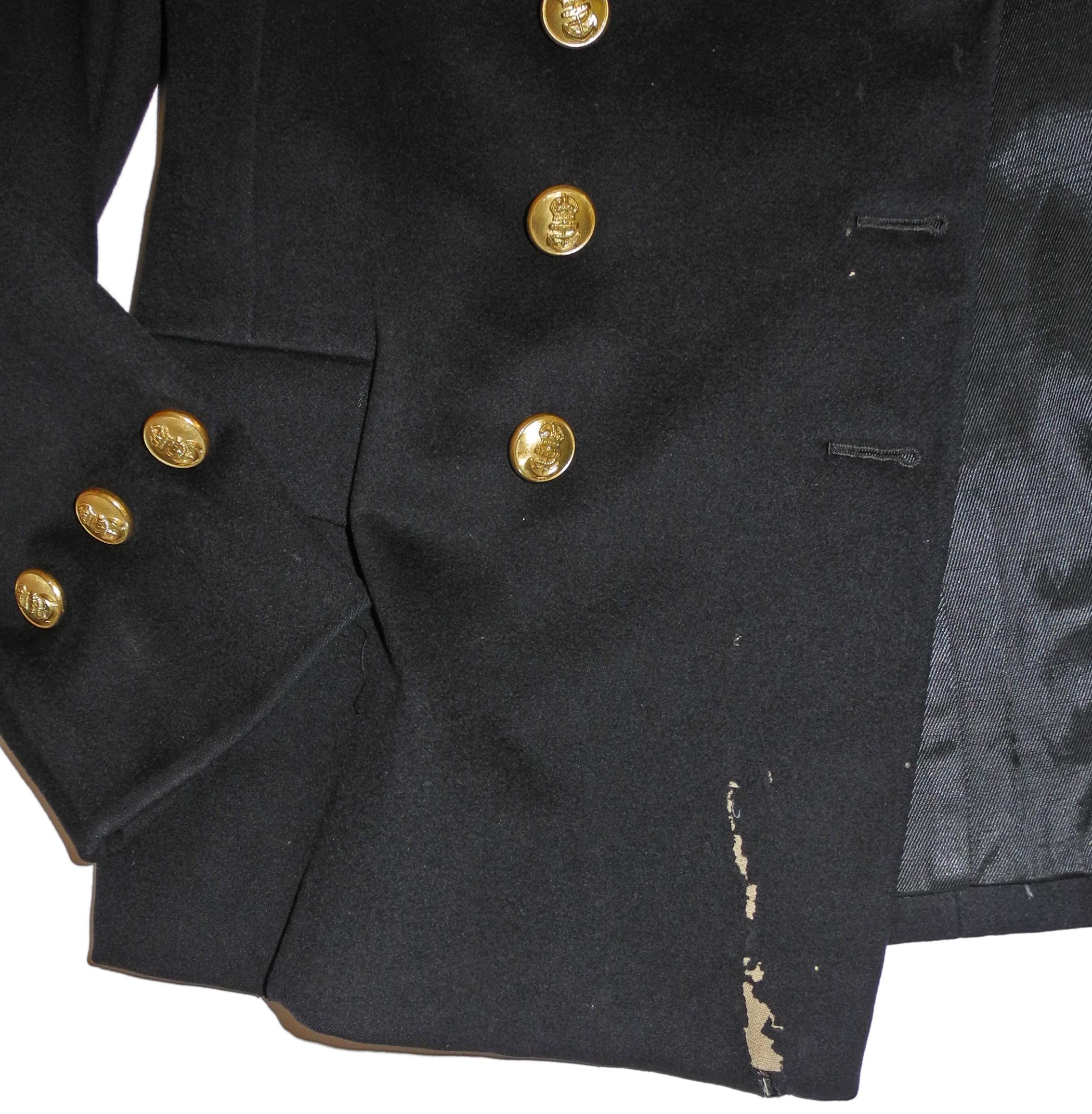 WWII era RN FAA CPO dress tunic
