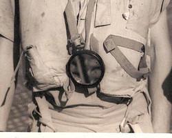 RAF signal mirror bakelite - $150