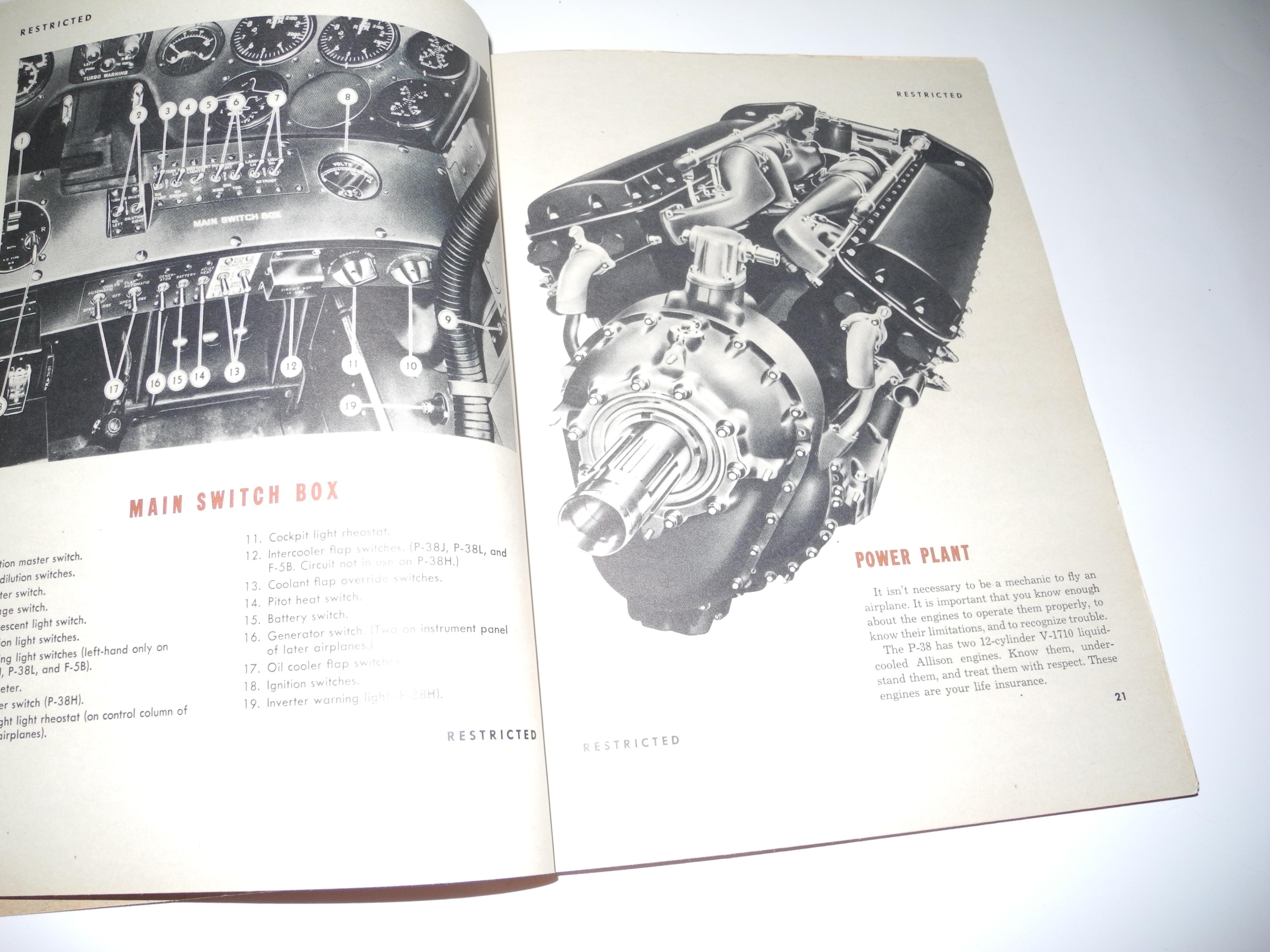 AAF P-38 Lightning Handbook