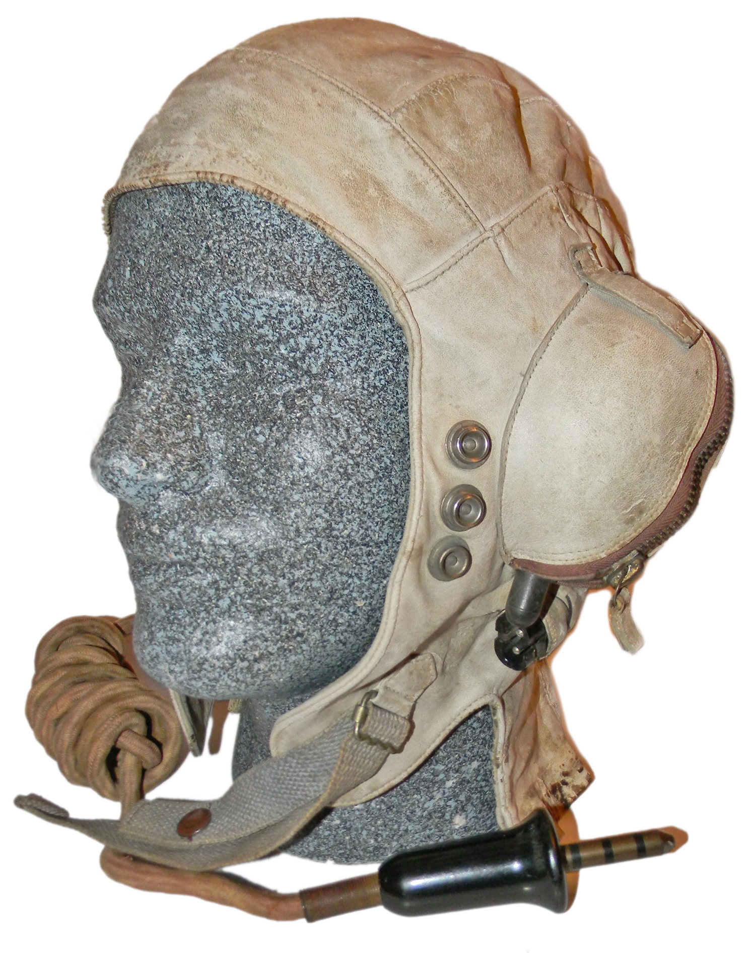 WWII RN FAA Immersion suit helmet