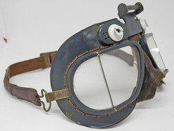 RAF K VII goggles with leather strap
