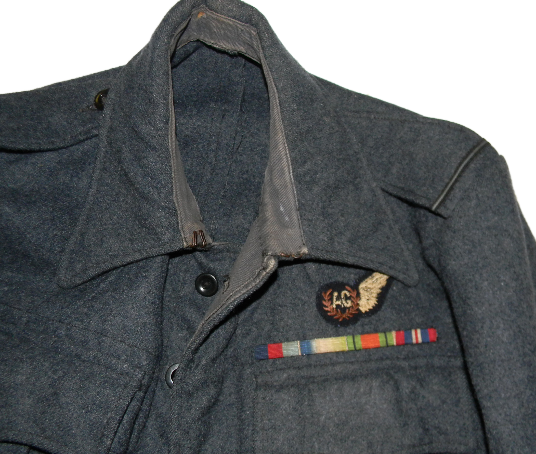 RAF officer's BD blouse Air Gunner