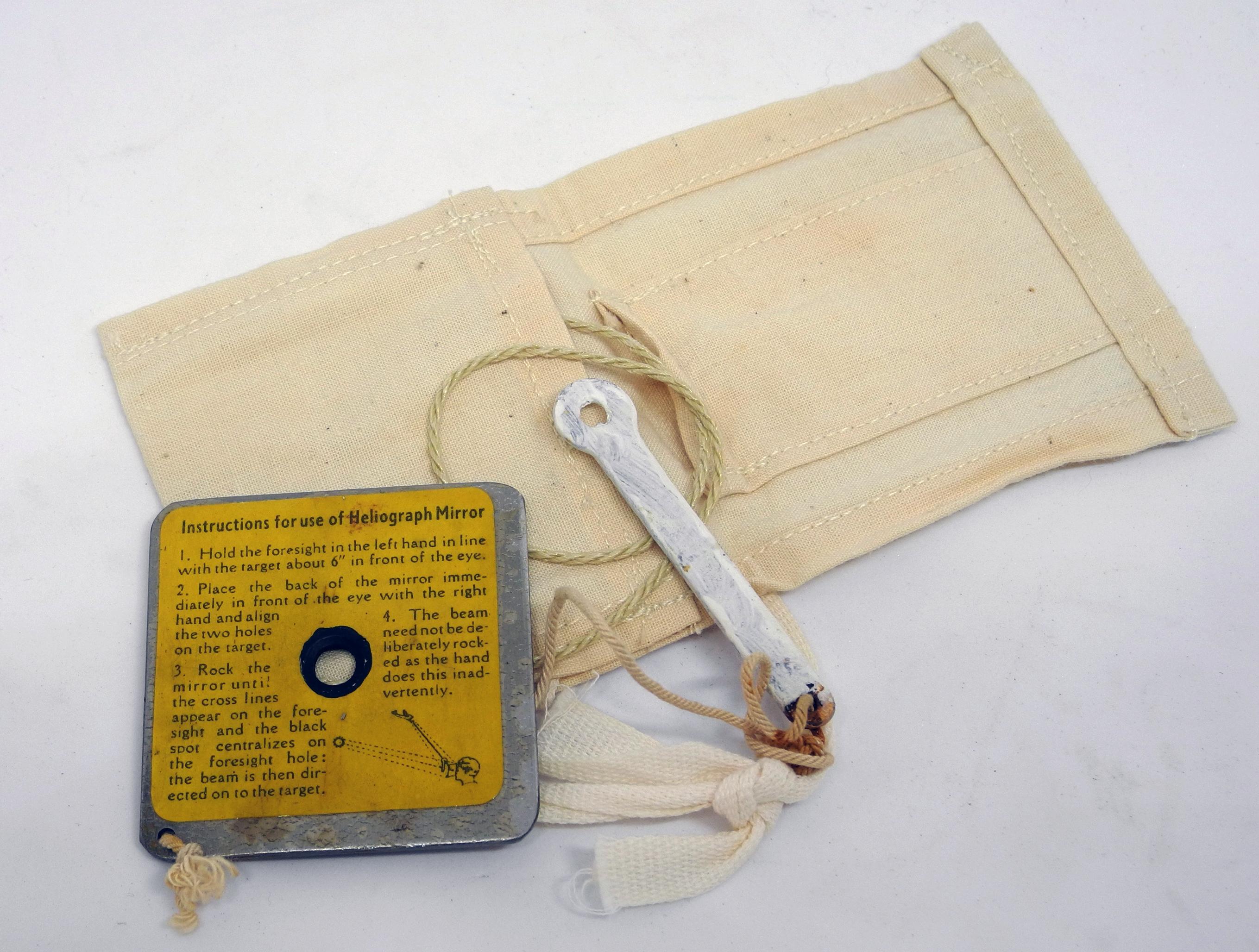 RAF 1941 mae west heliograph