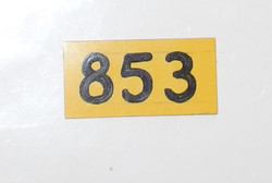 RAF Ops Room raid plotting block tile 259/853