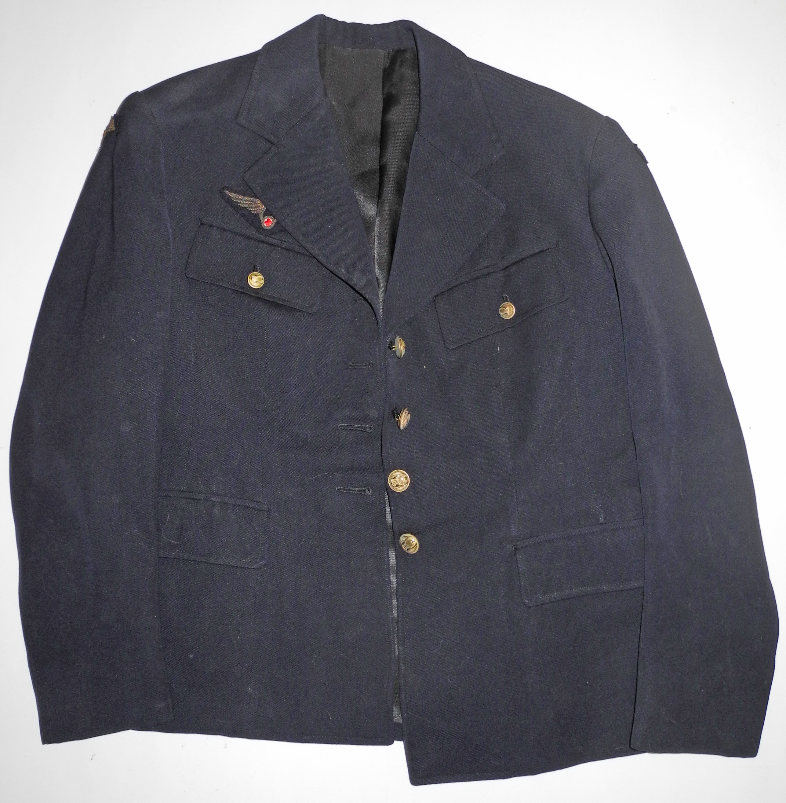 WWII era French Air Force Flight Nurse uniform jacket