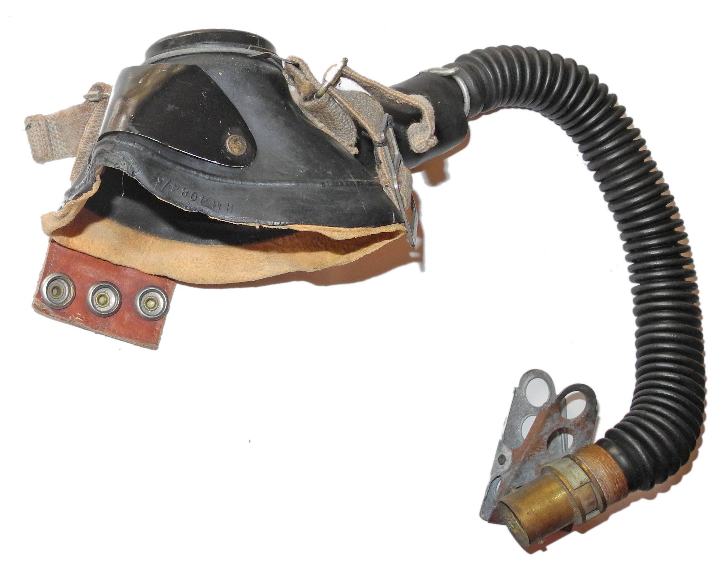 RAF Type E* oxygen mask with hose