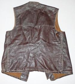 Leather jerkin as worn by RAF ground crews, British Army etc.