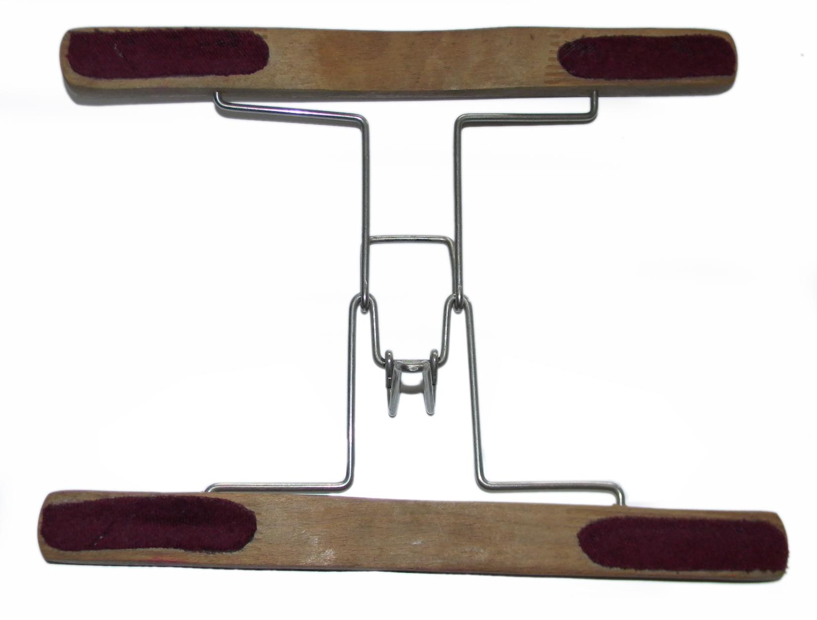 WWII Luftwaffe trouser hanger