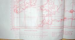 RAF navigator's chart Europe5366
