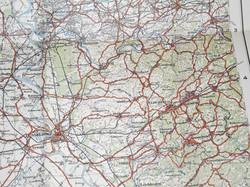 RFC WWI Fight map / chart N.W. Europe