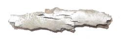 Shrapnel from WW2 bombs