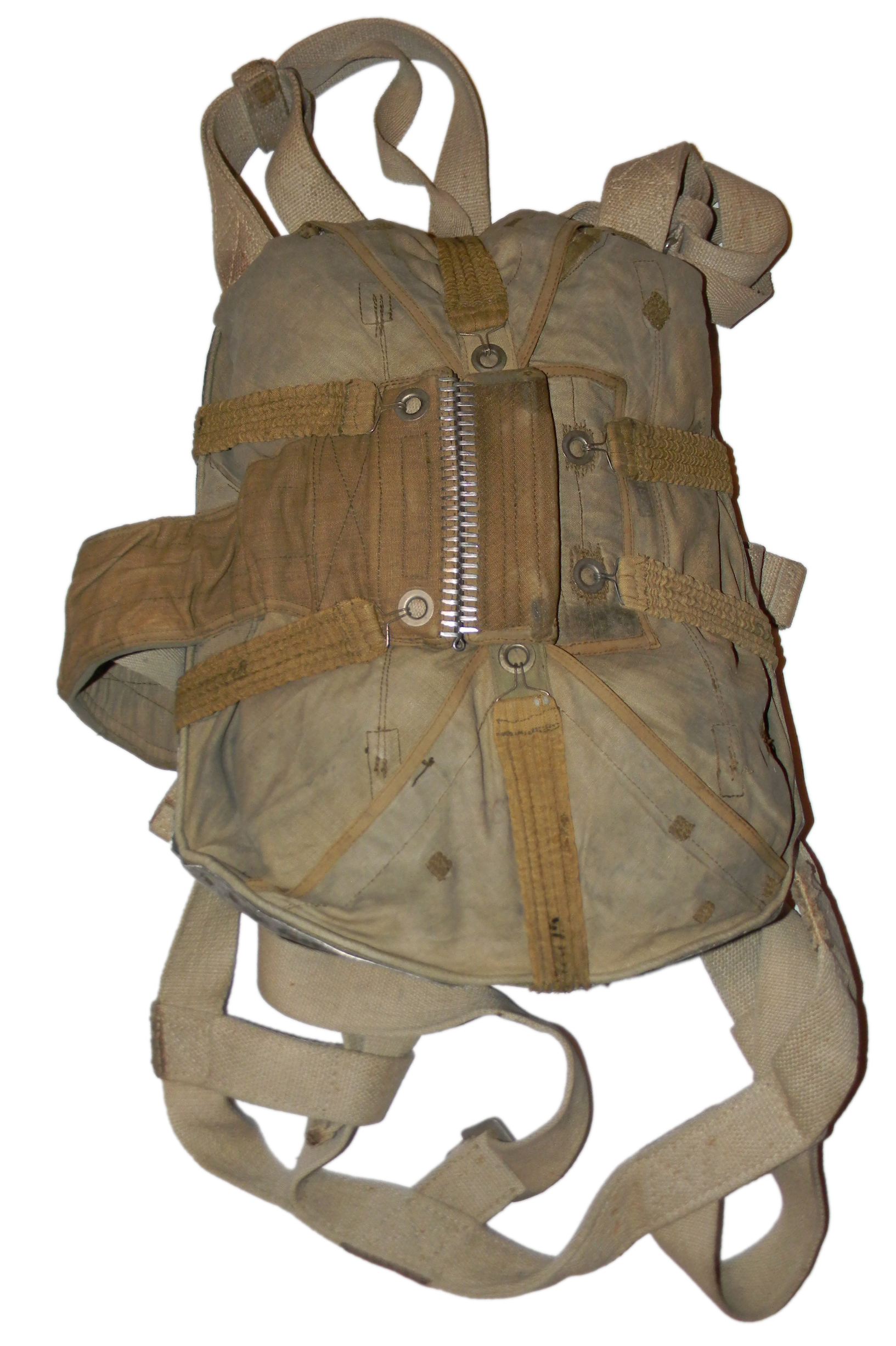 LW back pack parachute + bag