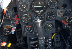 Hartmann Me109G cockpit rod