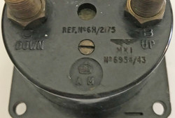 RAF aircraft gauge dated 9/45