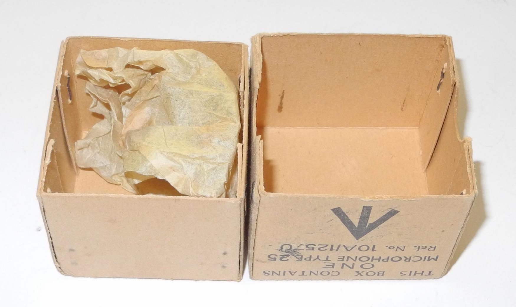 RAF Type 25 microphone box 2nd Type