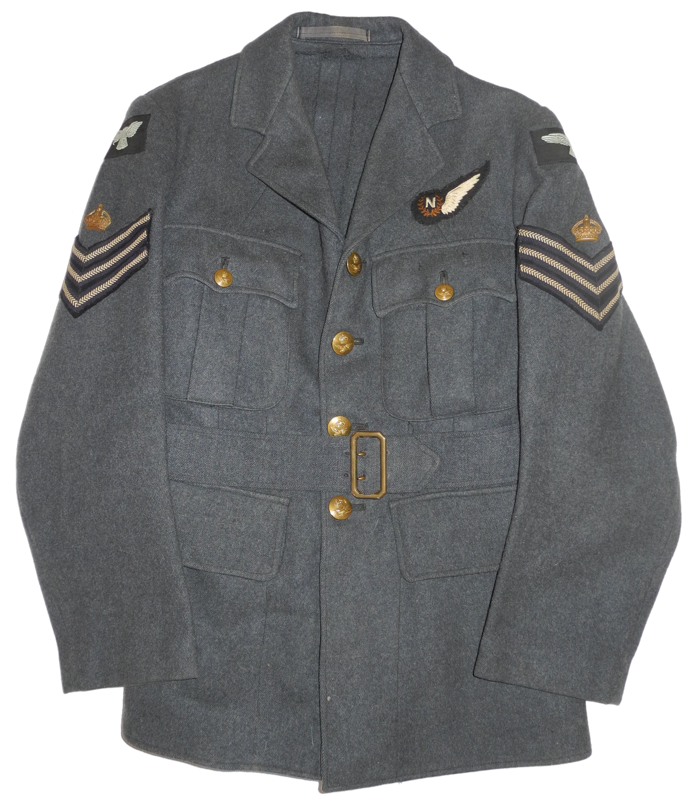 RAF Flt. Sgt. Navigator tunic 1941