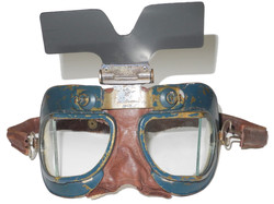 RAF Mk VII goggles with sun screen