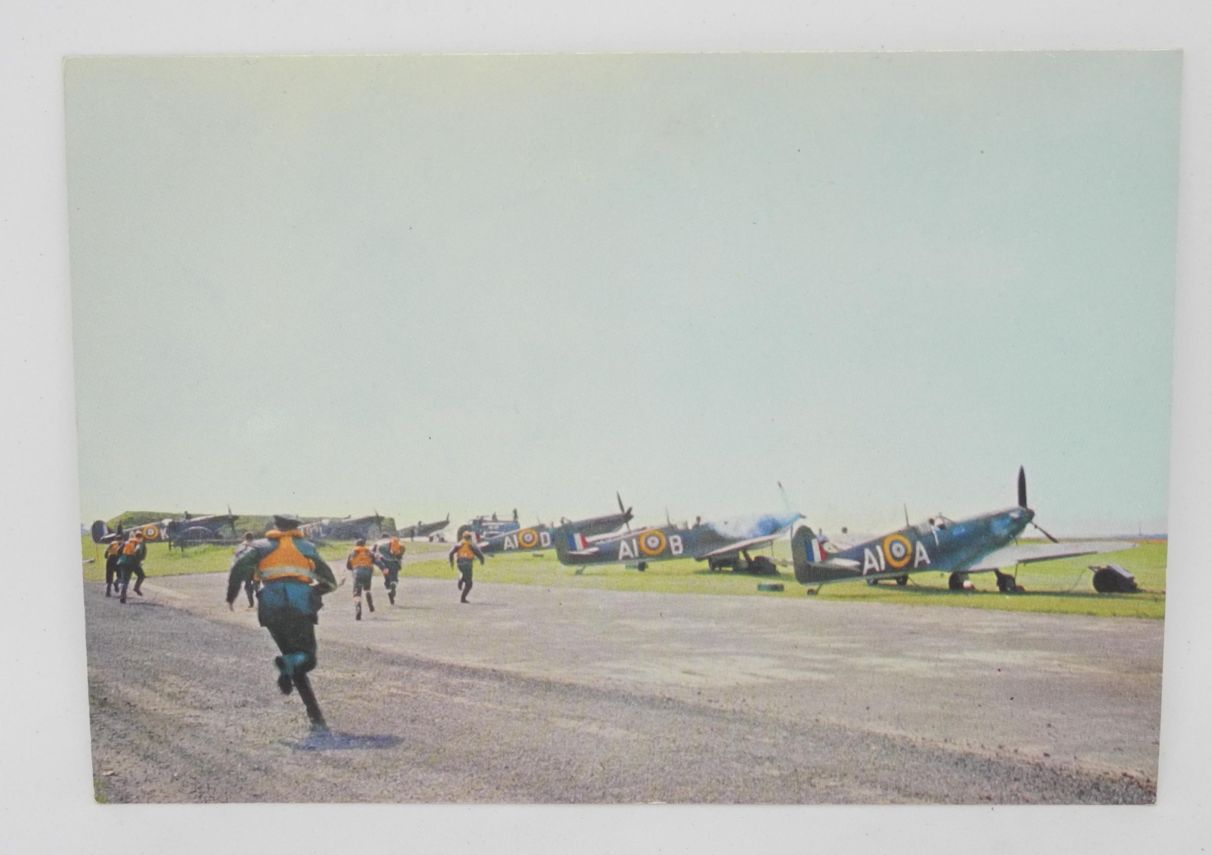 3 x Battle of Britain postcards