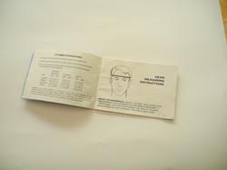 US Kevlar helmet instruction book