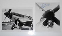 Signed photo of Tuskeegee airman Gordon Rapier