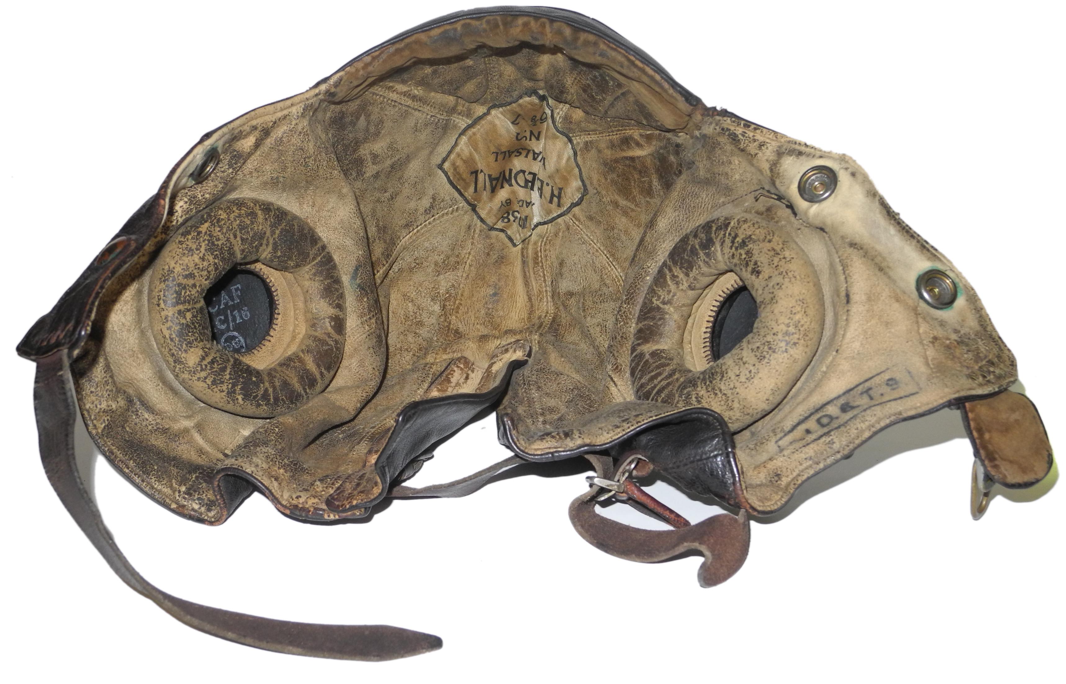 RAF Type B helmet by Bednalls 1938