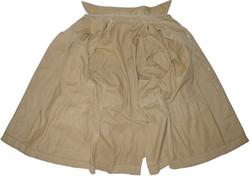 AAF CBI pilot's custom made tan cotton shirt