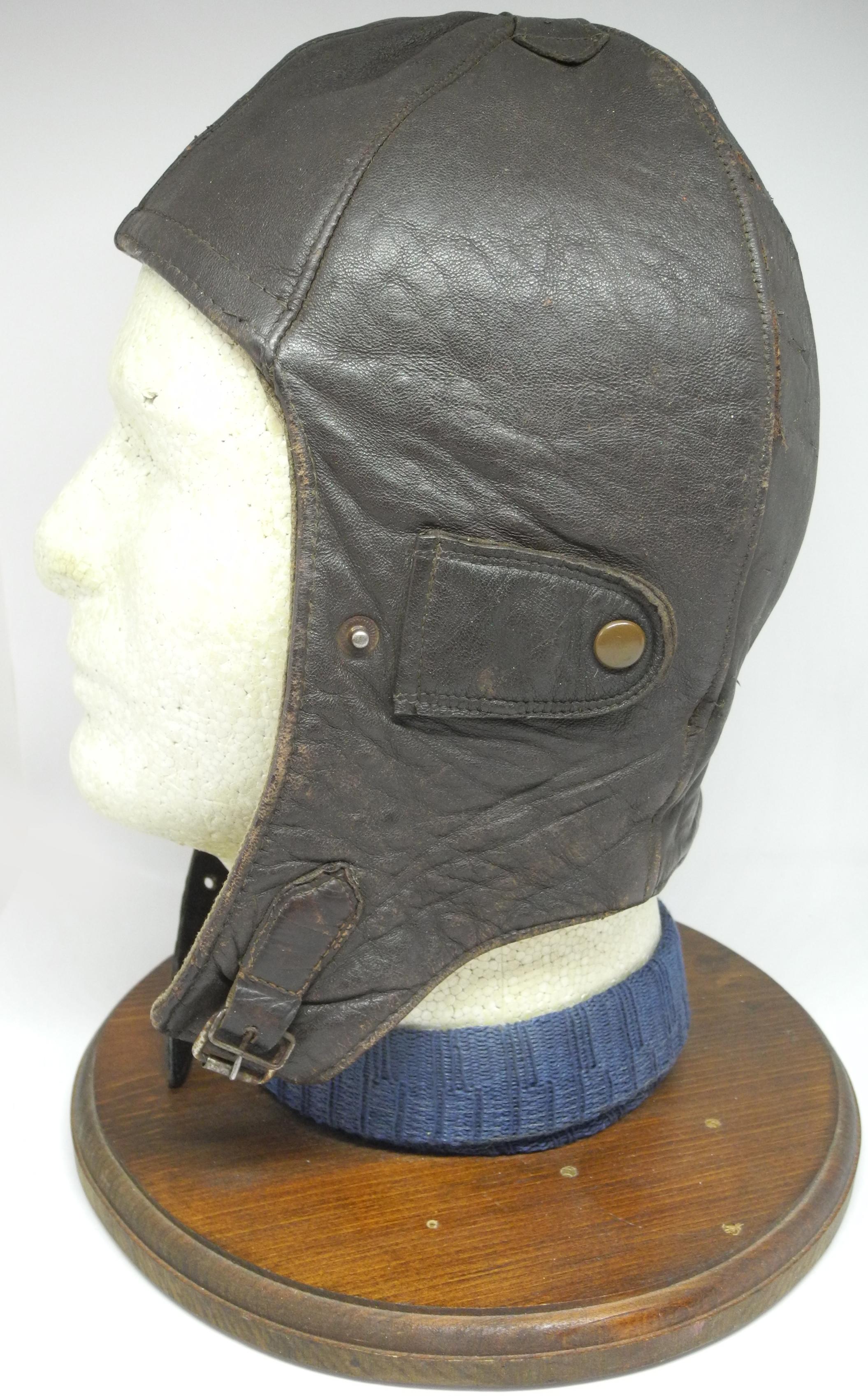 WWI German flying helmet