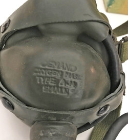 AAF A-14 Oxygen Mask in original box, with all accessories