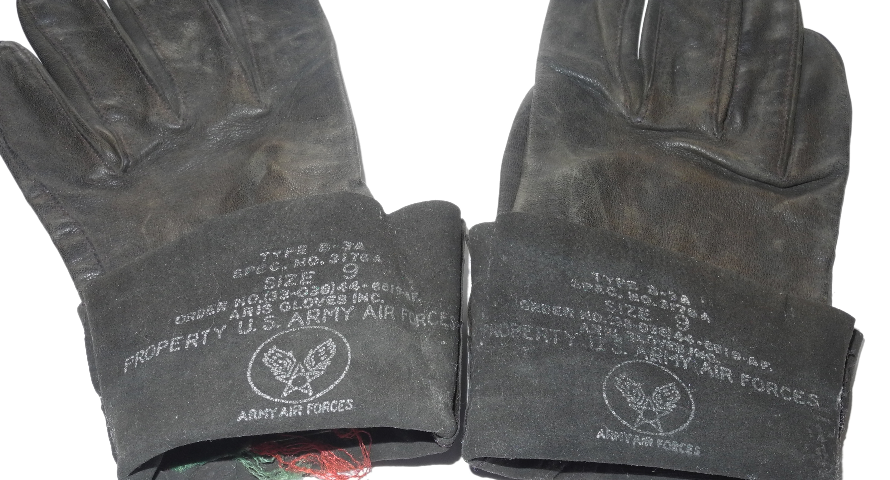 AAF B-3A gloves size 9