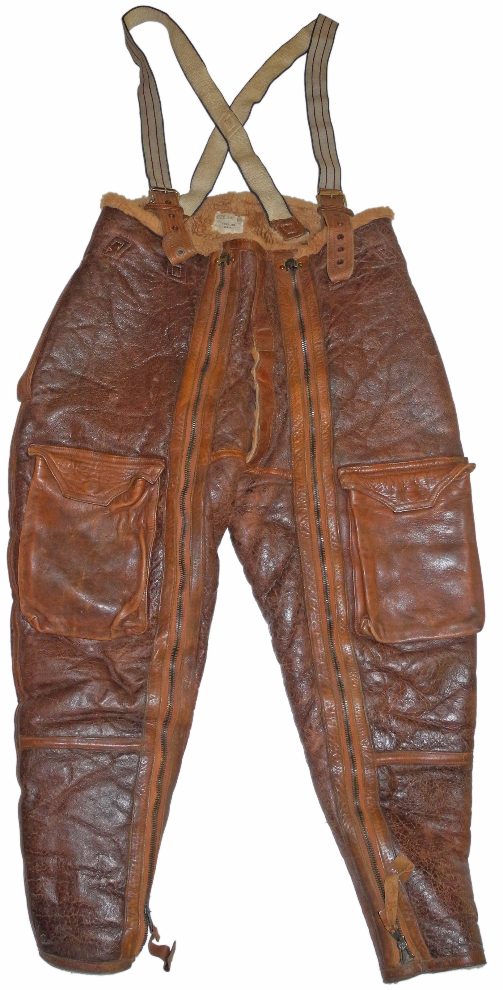 RAF Irvin trousers 1939 date