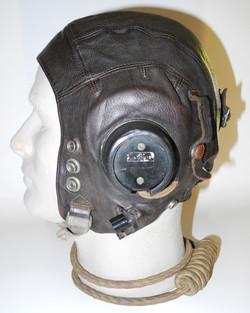RAF Type C helmet, fully wired