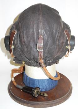 RAF Type C Flying Helmet, first internally wired model, early1944.