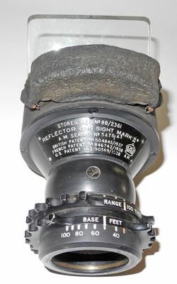 RAF Mk II Reflector Gunsight