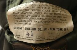 AAF CBI 10th AF officer's 4-pocket tunic